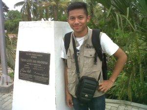 Ini adalah batas negara antara Indonesia dan Timor Leste...