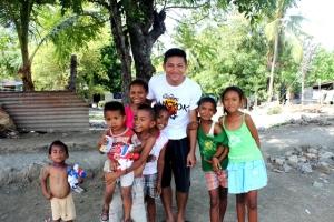 Anak-anak di Manatuto