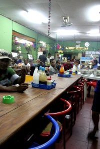 Suasana warung bakso di DILI