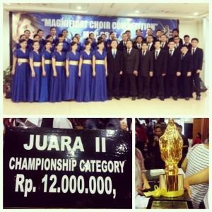 Kemenangan VOX ANGELORUM di ajang MCC 2013 - Jakarta